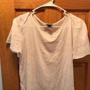 Ann Taylor Shirt (soft pink)